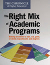 The Right Mix of Academic Programs