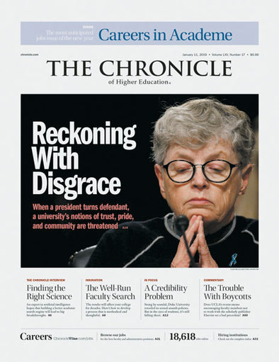 The Chronicle of Higher Education, January 11, 2019