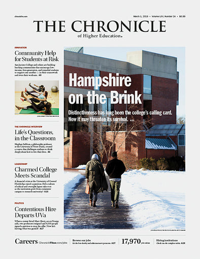 The Chronicle of Higher Education, March 1, 2019