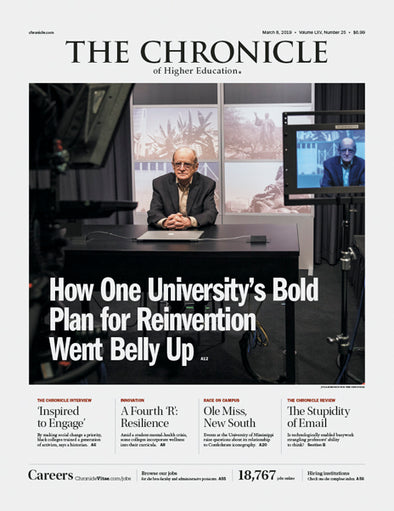 The Chronicle of Higher Education, March 8, 2019