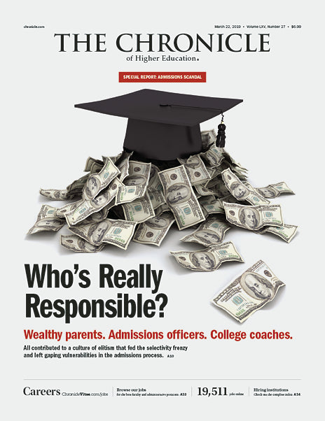The Chronicle of Higher Education, March 22, 2019