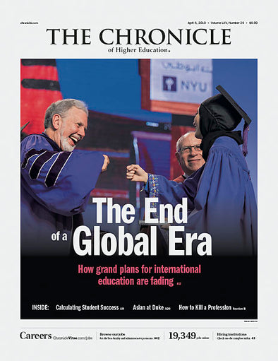 The Chronicle of Higher Education, April 5, 2019