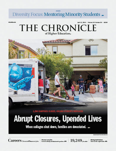 The Chronicle of Higher Education, April 12, 2019