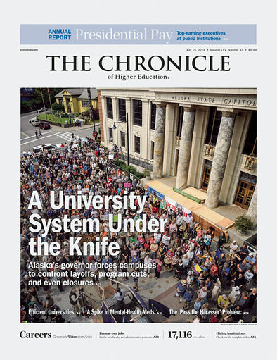The Chronicle of Higher Education, July 19, 2019