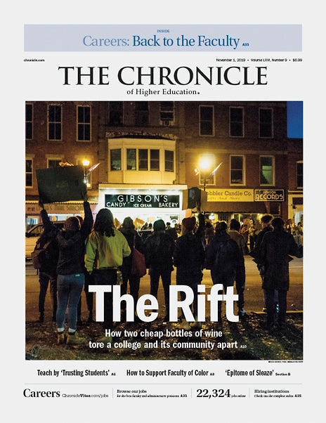 The Chronicle of Higher Education, November 1, 2019