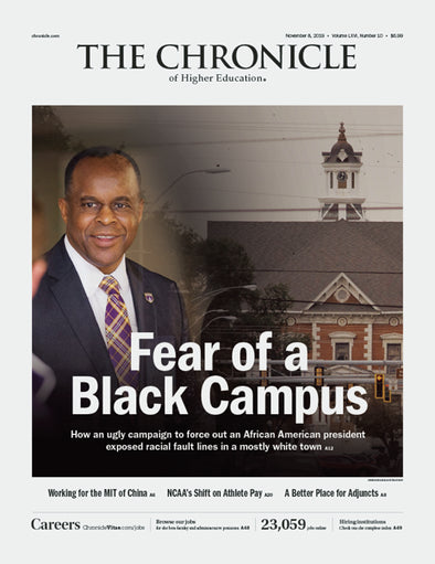 The Chronicle of Higher Education, November 8, 2019
