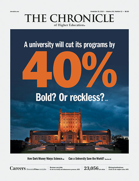 The Chronicle of Higher Education, November 29, 2019