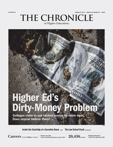 The Chronicle of Higher Education, January 10, 2020