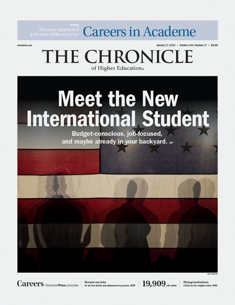 The Chronicle of Higher Education, January 17, 2020