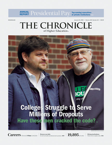 The Chronicle of Higher Education, January 24, 2020