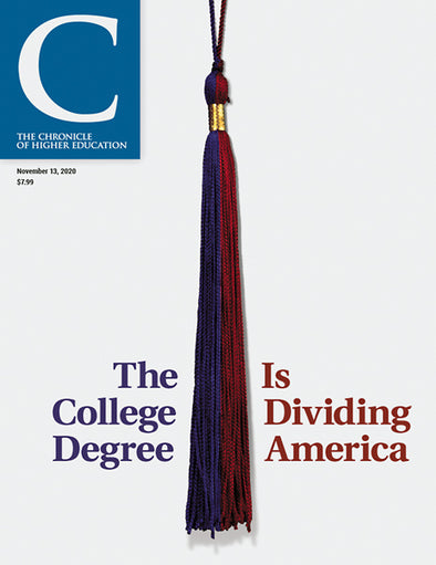The Chronicle of Higher Education, November 13, 2020