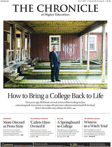 The Chronicle of Higher Education, April 7, 2017