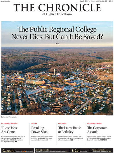 The Chronicle of Higher Education, May 5, 2017