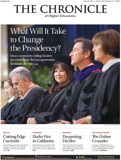 The Chronicle of Higher Education, May 26, 2017