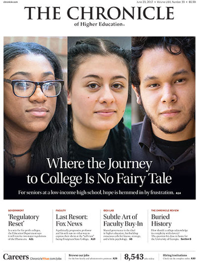 The Chronicle of Higher Education, June 23, 2017
