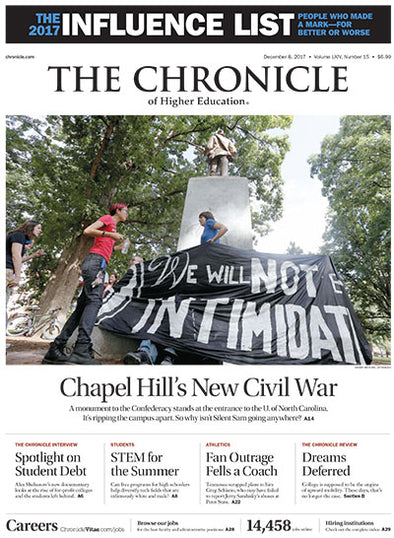 The Chronicle of Higher Education, December 8, 2017