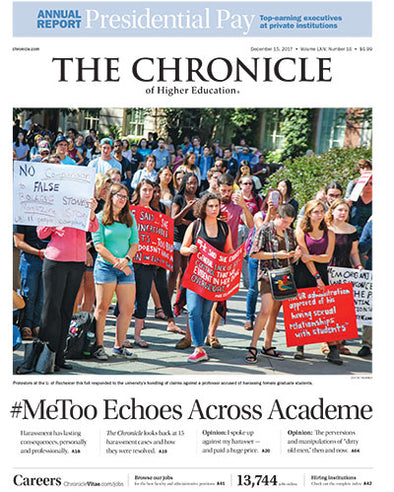 The Chronicle of Higher Education, December 15, 2017