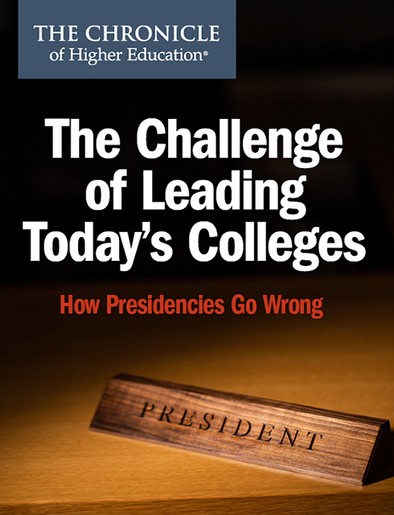 The Challenge of Leading Today's Colleges