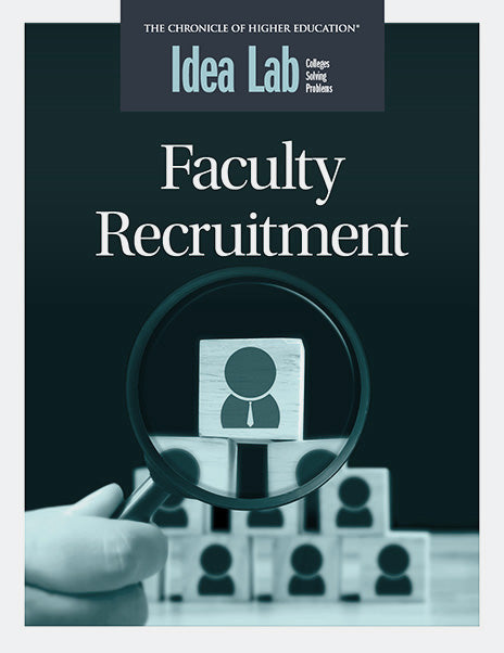 Idea Lab: Faculty Recruitment