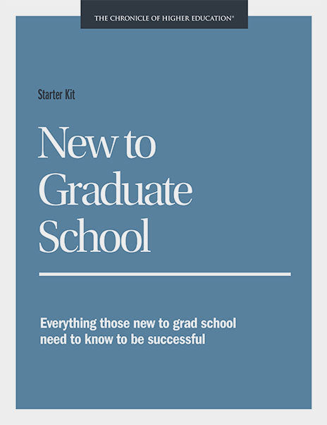 Starter Kit: New to Graduate School