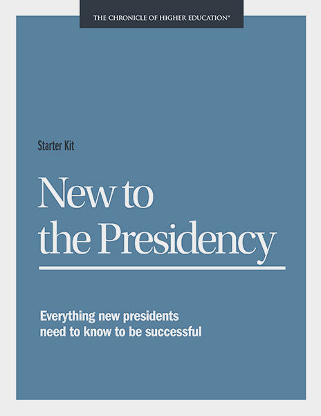 Starter Kit: New to the Presidency