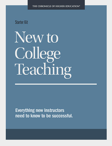 Starter Kit: New to College Teaching