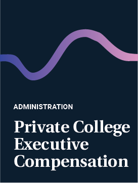Private College Executive Compensation