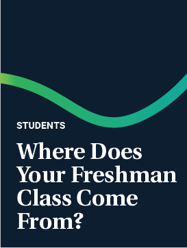 Where does your Freshman Class Come From?