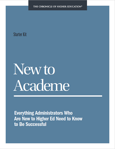 Starter Kit: New to Academe