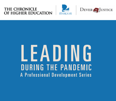 Leading During the Pandemic: A Professional Development Series for Dept. Chairs