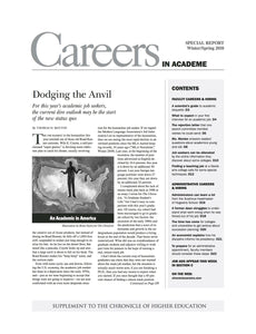 Careers in Academe, 2010