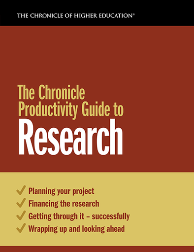 The Chronicle Productivity Guide to Research