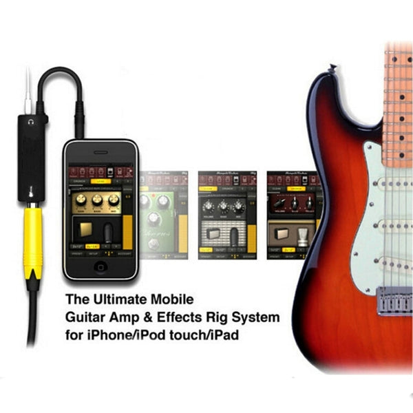Multimedia AmpliTude iRig Guitar Interface Adaptor for iOS devices
