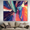 Colorful and Soft Tapestries Wall Hanging, Blanket, Beach Towel, Throw