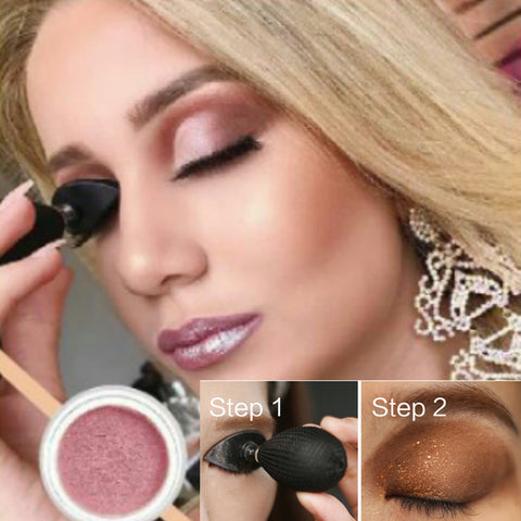 Eye shadow Applicator  Silicon Shadow Crease Stamp  Popular Tool