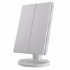 Three Folding Panels  Makeup Mirror + 10X small Magnifying Mirror