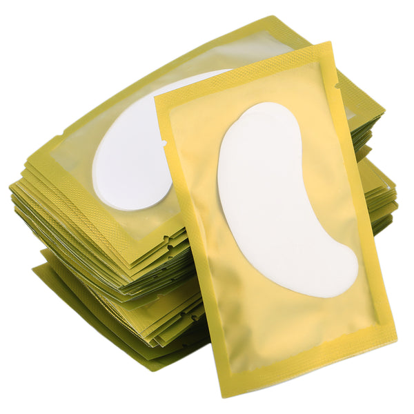 50 pairs New Paper Eyelash Under Eye Pads