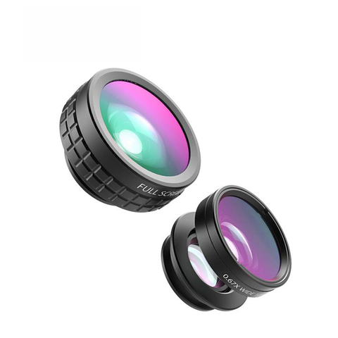 Mini Clip-on Optic Cell Phone Camera Lens Kit