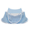 Portable. Foldable Baby's Bed with Mosquito Canopy and padded Mattress and Pillow