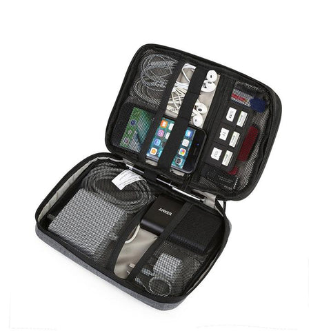 Electronic Accessories Travel Bag Organizer For Cables, Earphones, Mice and so much more.