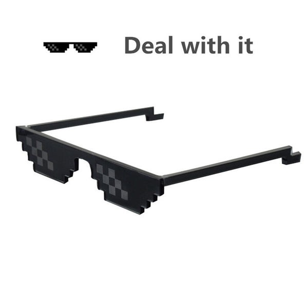 Deal With It sunglasses  8 bits of attitude eyewear unisex DEALWITHIT