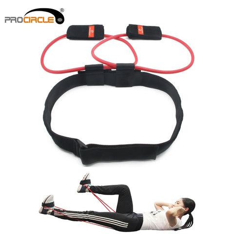 Adjustable Resistance Bands Glutes, Abdomen, Lower Back Pain Relief