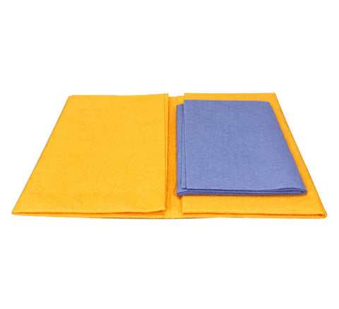 8pcs/set Super Absorbent Bamboo Fiber Towels for Dishes, Car, Pets.