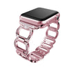 Rhinestone and Metal Watch Band For Apple Smart Watch Series 3 2 1