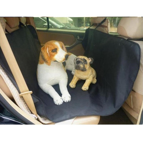 Pet Rear Car Sling Protects Seat and Keeps Pets Safe Waterproof