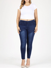 Savannah Denim Jeggings Dark Blue