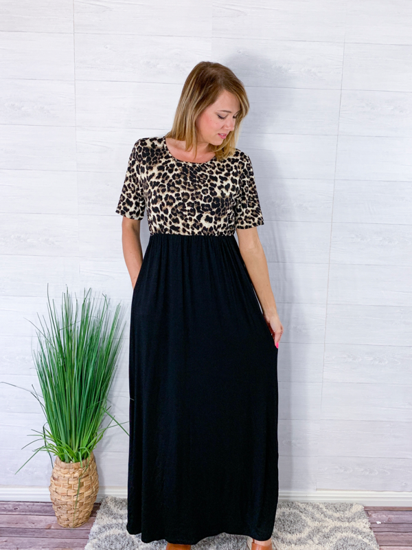Conquer The Night Maxi Dress