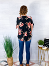 Rose Garden Top - Black