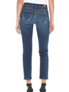 Magnolia Destroyed Boyfriend Jeans - Dark Wash