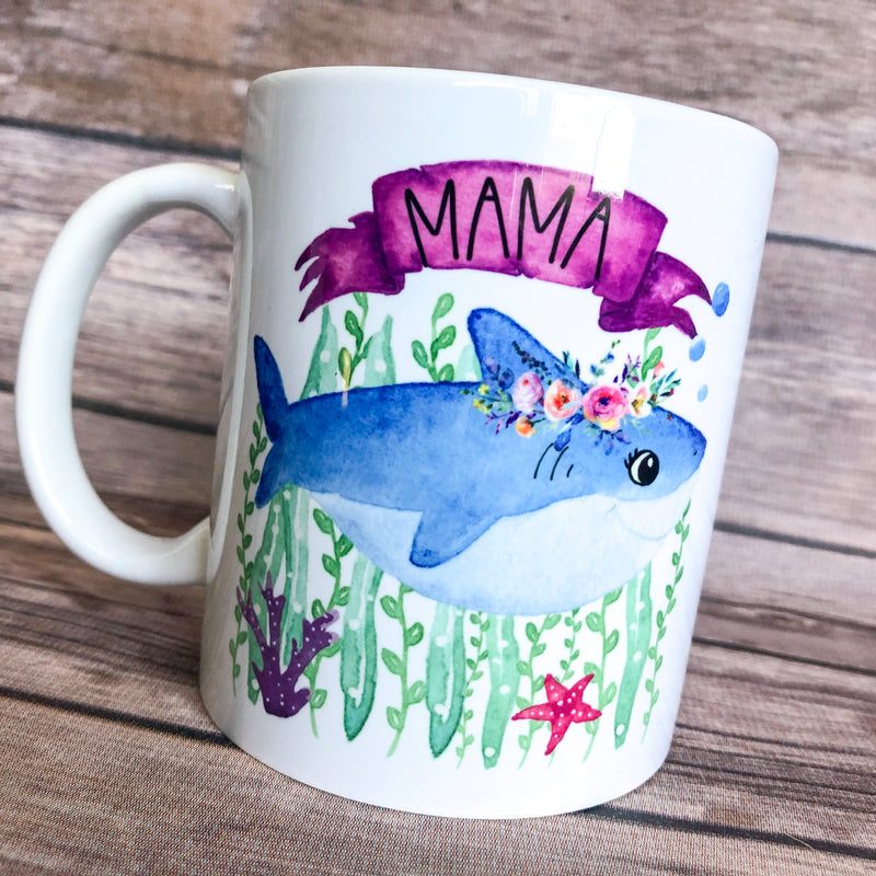 Mama Shark - 11 oz Ceramic Mug